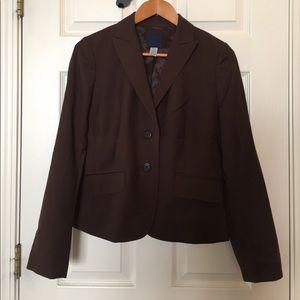 J. Crew suit jacket and pants