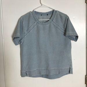 Denim Zara Tee Shirt