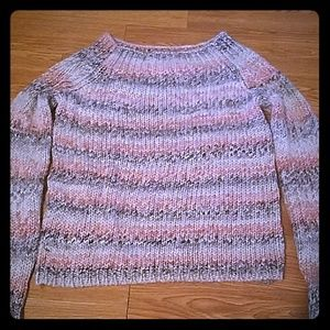 Stripped sweater -- The Limited