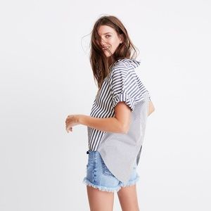 Madewell Courier Button-Back Shirt