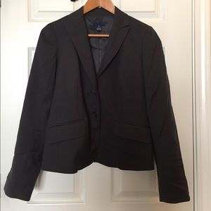 J. Crew wool suit jacket and pants