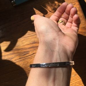 Sterling Silver Bible Verse Bracelet