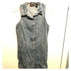 Gap Limited Edition sleeveless denim dress