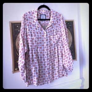 Two fabric button up from style&co