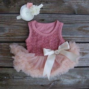 Other - Baby girl dress. Tutu dress.