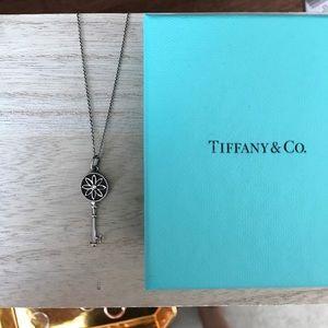Tiffany & Co Daisy Key With Diamond