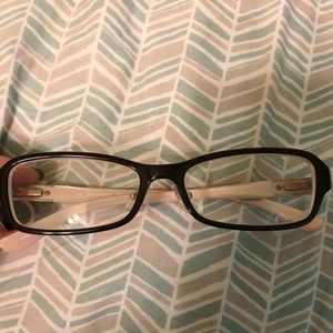 Dark brown Juicy Couture prescription glasses