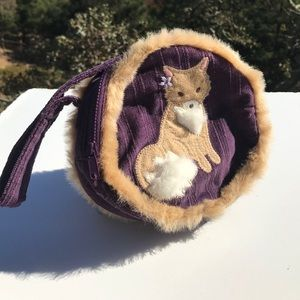 Gymboree Purple Fox Purse