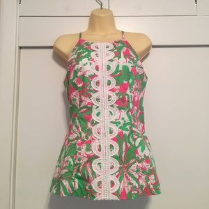 Lilly Pulitzer Annabelle Top sz 2 NWT