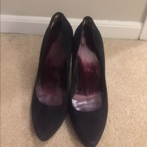 Jessica Simpson Black High Heels