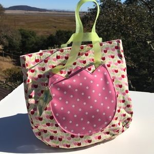 Gymboree Tulip Tote Bag NWT