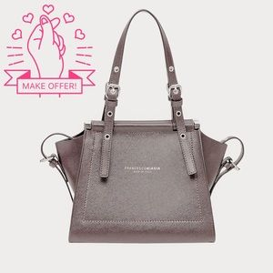 Handbags - NEW Italian Leather Box Satchel