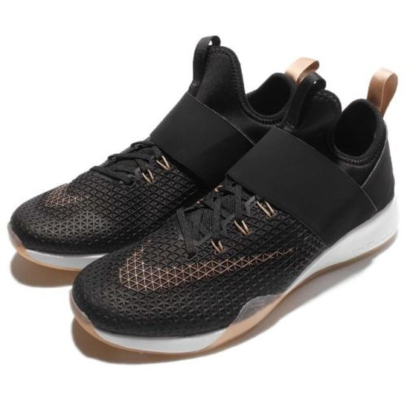new style 094ac 6a2fa Nike Womens Air Zoom Strong Shoes Sz 6 BLACKROSE