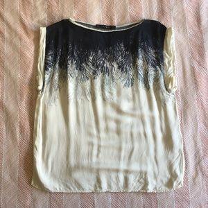 Zara Printed Blouse, Small