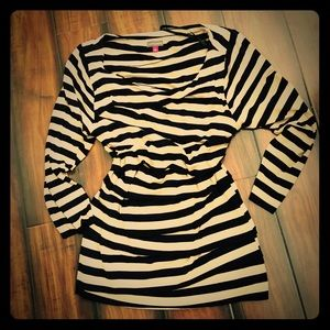 Vince Camuto Striped Stretchy Blouse