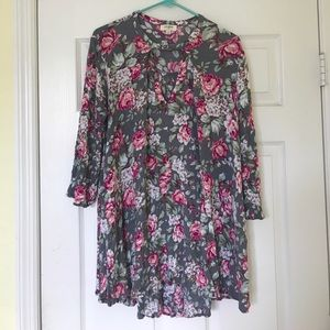Floral cut out dress by Umgee