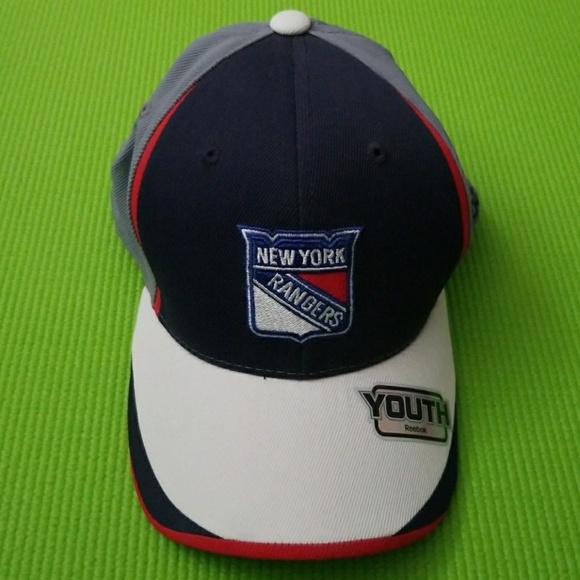 NWT Authentic Reebok NY Rangers Hat - Youth e8931c82aa15