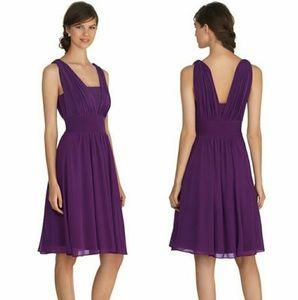 WHBM Purple Genius Convertible Dress