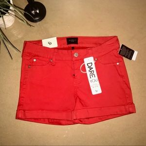 Celebrity Pink 5-Pocket Cuff Shorts