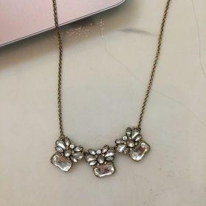 Banana Republic Diamanté Necklace