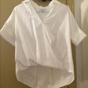 XS Madewell white blouse. Perfect condition!