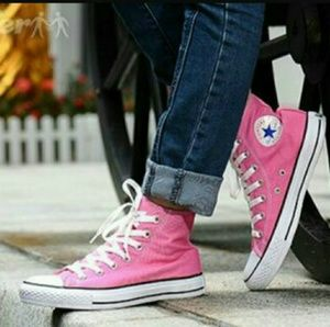 Converse Chuck Taylor Pink* 10W/8M NWOT