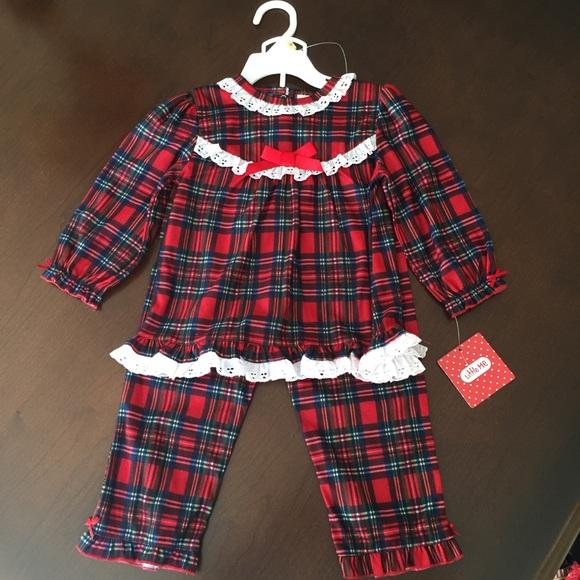 d7679a59ee Little Me Christmas Pajamas