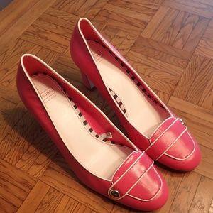 Merona Pink Clarissa Leather Heels