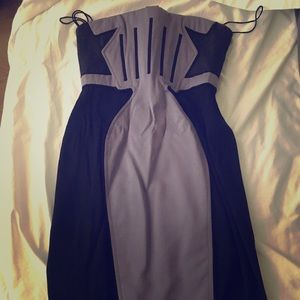 Zac Posen corset dress