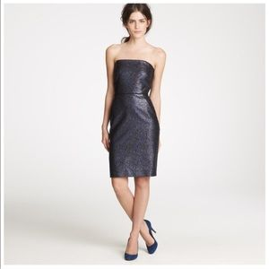 J. Crew Collection Nightwatch  Metallic Dress