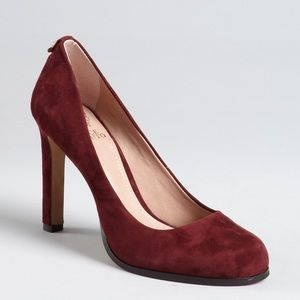 •Vince Camuto• ruby suede pumps. Like new