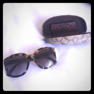 Like-Brand New Coach sunglasses - only wore once!