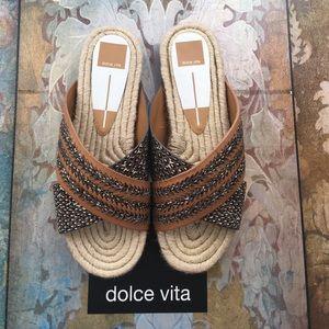 Brand New w/ 📦 Dolce Vita Women Espadrille Slides