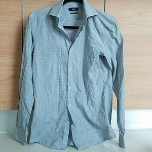 Hugo Boss men's slim fit dress shirt