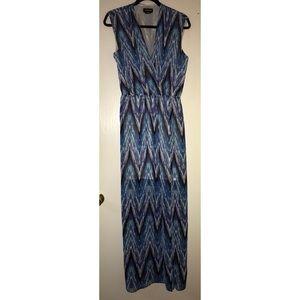 Bebe Aztec maxi dress