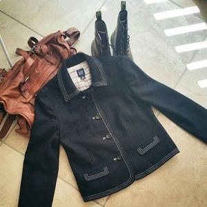 GAP 💎NWOT💎 Navy Wool Blazer Jacket