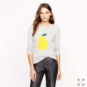 J. Crew Pear Sweater, XS