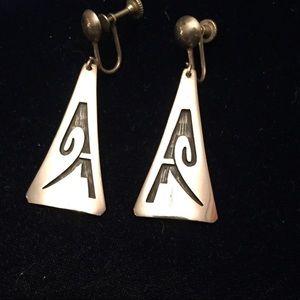 Vintage Silver NM Earrings