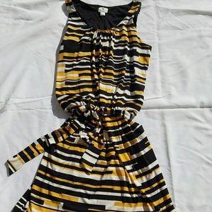 Worthington Dress Size Medium Yellow black