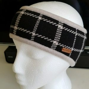 NWOT Coach fleecelined headband/ear warmer