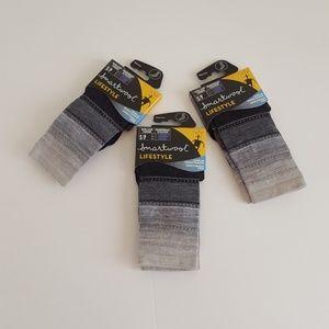3 pair of Smartwool socks