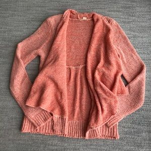 Anthropologie Open Front Cardigan by Moth