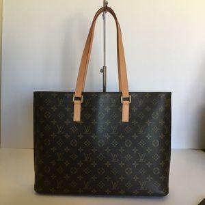 Authentic Louis Vuitton Luco Tote