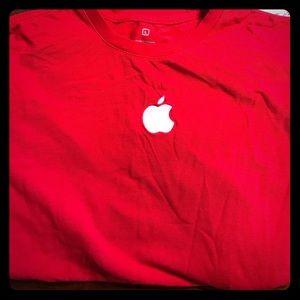 Apple store Logo Adult Large Long sleeve shirt