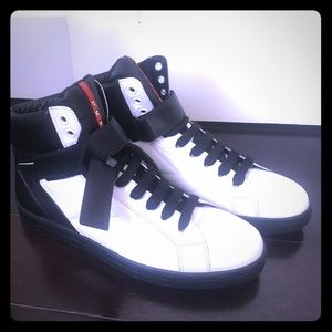 Prada brand new men's high top sneakers