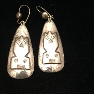 Sterling Silver NM Made Earrings