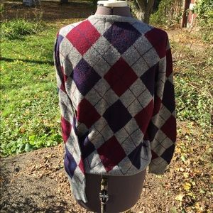 VTG: Argyle Sweater
