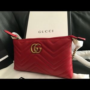GUCCI - GG Marmont mini chain bag