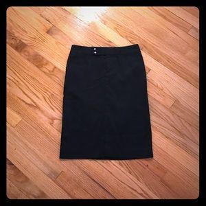 Gap Stretch pencil skirt 0