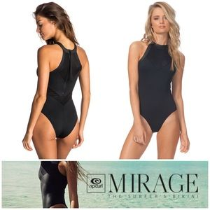 New w/ Tags Rip Curl Mirage One Piece Swimsuit